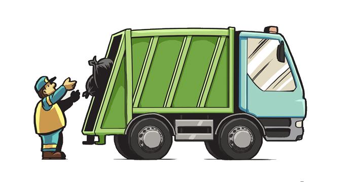 Ilustracja do informacji: Harmonogram odbioru odpadów komunalnych na 2021 rok